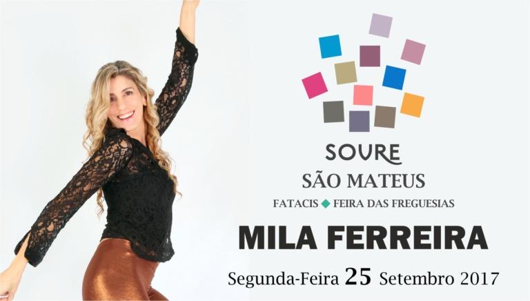 Mila Ferreira atua na segunda-feira no São Mateus / FATACIS em Soure