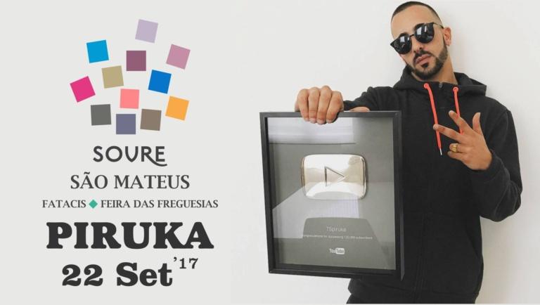 Piruka o português dos milhões no youtube
