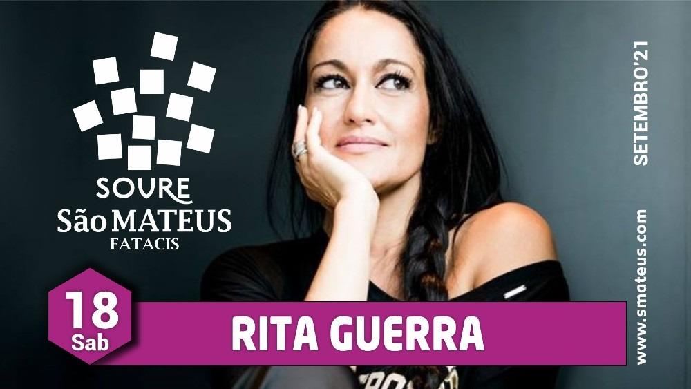 Rita Guerra em espetáculo musical na Feira São Mateus 2021, em Soure