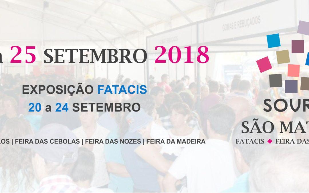 Anunciadas datas da feira de São Mateus FATACIS 2018